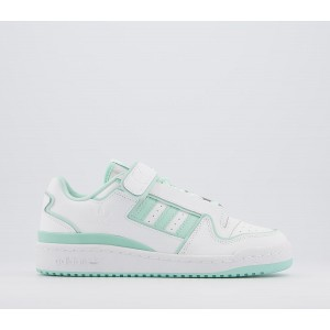 adidas Forum Plus Trainers White White Mint Purple - Hers trainers for Women Trending G9T9N7477