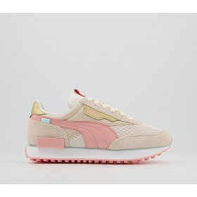 Puma Future Rider Trainers Apricot Blush Sand - Hers trainers for Women on style JFOC51793