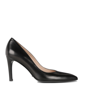 FREE LANCE Women's FOREL 7 PUMP - Black Leather pumps with pointed toe Fashion RICC628