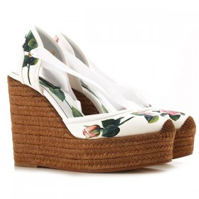 Dolce & Gabbana Women Wedges White•Other colors: Roses New Style PSBG833