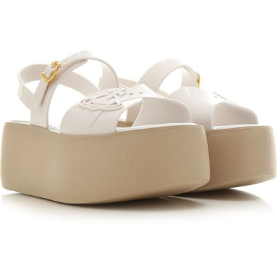 Melissa Women Wedges White•Other colors:Beige Best RTZY298