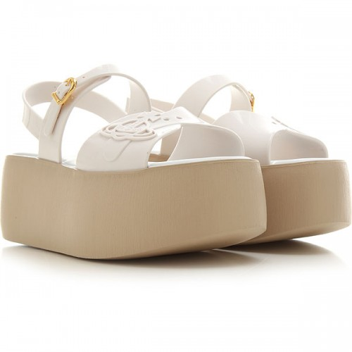 Melissa Women Wedges White•Other colors: Beige Best RTZY298