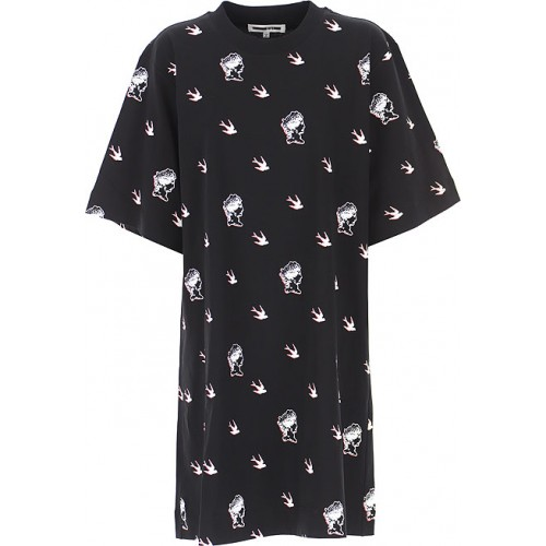 Alexander McQueen McQ Women Dresses New Black•Other colors: White,Red Size L Ships Free VGDH179