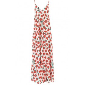 Aniye By Women Dresses New White•Other colors: Strawberry Red,Green Size L UFIU199