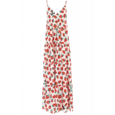 Aniye By Women Dresses New White•Other colors:Strawberry Red,Green Size L UFIU199