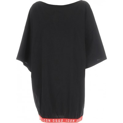 Dsquared2 Women Dresses New Black•Other colors:Red Going Out The Top Selling JPWA283