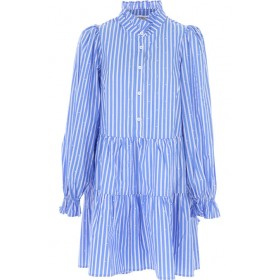 ESSENTIEL Antwerp Women Dresses New Blue•Other colors: White Casual online shopping AOZC536