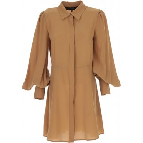 Federica Tosi Women Dresses New Biscuit definition Online Wholesale KNGH190
