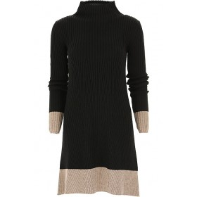 Liviana Conti Women Dresses New Black•Other colors: Mouse Grey Casual guide QYJA655