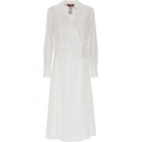 Max Mara Women Dresses New White night out 2021 Trends VBFT666