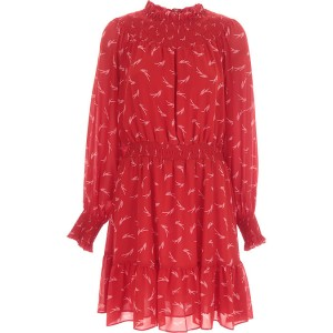 Michael Kors Women Dresses New Red•Other colors: White Casual Fashion KGBW148