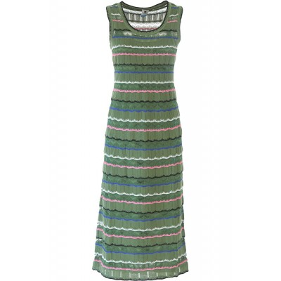 Missoni Women Dresses New Green•Other colors:Multicolor 2021 OBHT629