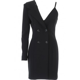 Moschino Women Dresses New Black Party Trends QVBH216