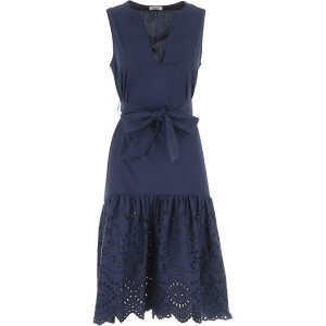 P.A.R.O.S.H. Women Dresses New Midnight Blue Bridesmaid At Target FQPO401
