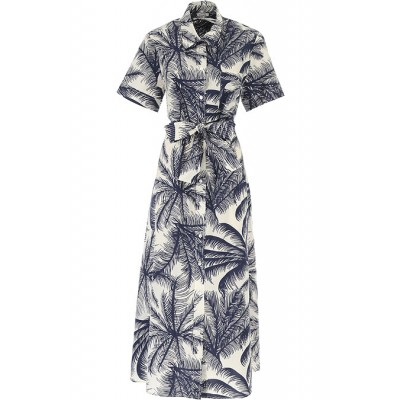 P.A.R.O.S.H. Women Dresses New White•Other colors:navy summer Number 1 Selling QSPB533