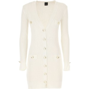 Pinko Women Dresses New White Collection RCMS886