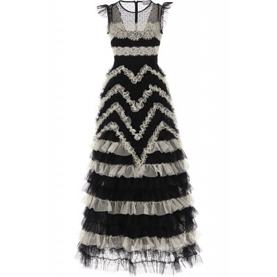 RED Valentino Women Dresses New Black•Other colors:White by lori Online Wholesale AILS606