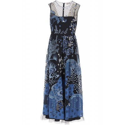 RED Valentino Women Dresses New Blue•Other colors:Azure Plus Size Discount XEXW914
