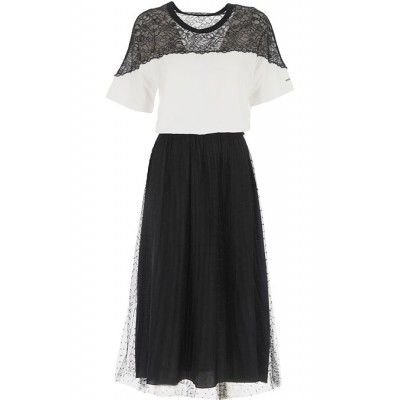 RED Valentino Women Dresses New White•Other colors:Black night out On Sale CEZW875