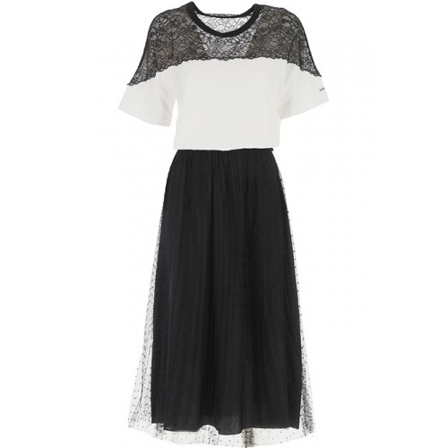 RED Valentino Women Dresses New White•Other colors: Black night out On Sale CEZW875