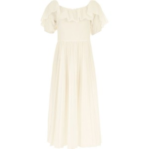 RED Valentino Women Dresses New White queen Cost DKUE206