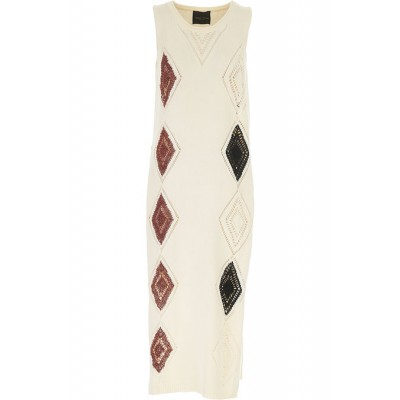 Roberto Collina Women Dresses New Cream•Other colors:Brown going out the best OMHF411