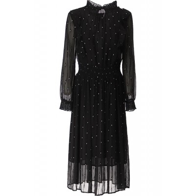 Silvian Heach Women Dresses New Black•Other colors:Silver Casual PTJB642