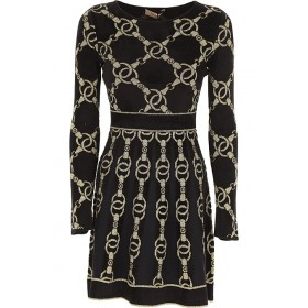 Twin Set by Simona Barbieri Women Dresses New Black•Other colors: Gold Party New Look ONKH391