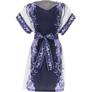 Twin Set by Simona Barbieri Women Dresses New navy•Other colors: White definition Top Sale MJWZ199