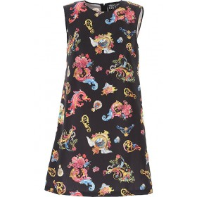 Versace Jeans Couture Women Dresses New Black•Other colors: Multicolor Size XL AAST428