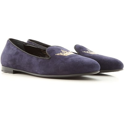 Church's Women Slip-ons Dark Blue•Other colors:Golden Yellow New Arrival CCMO205