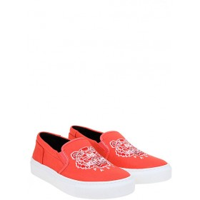 Kenzo Women Slip-ons coral red•Other colors: White In Sale YBAB453