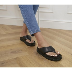 Vagabond Shoemakers Erin Toe Thong Sandals Black - Non Promo Products for Women for sale near me KKLAB2635