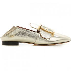 Bally Women Loafers Champagne Gold EPZP921