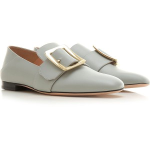 Bally Women Loafers Grey Boutique HZDX703