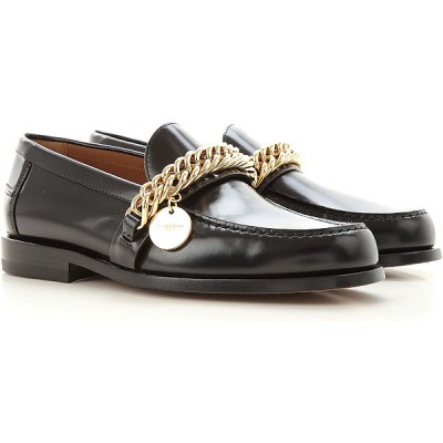 Givenchy Women Loafers Black Fitted VJMB726