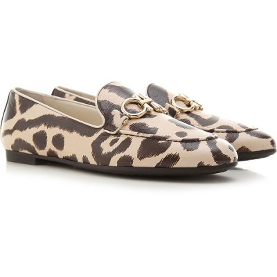 Salvatore Ferragamo Women Loafers Brown•Other colors:Beige Fit HLEH602