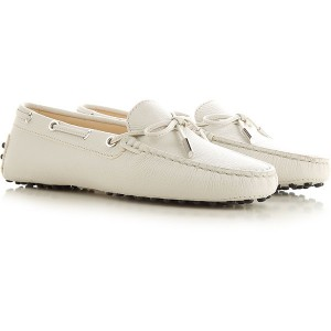 Tod's Women Loafers Ivory NDLX395