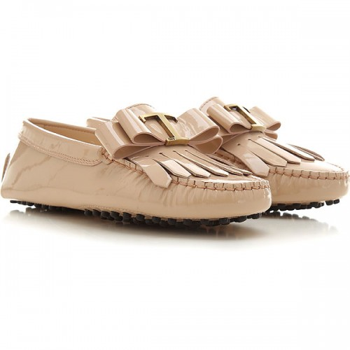 Tod's Women Loafers Nude HIVI845