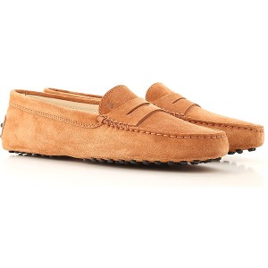 Tod's Women Loafers Rust Casual MMBO390