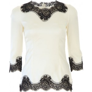 Dolce & Gabbana Women Tops White•Other colors: Black MQAF132