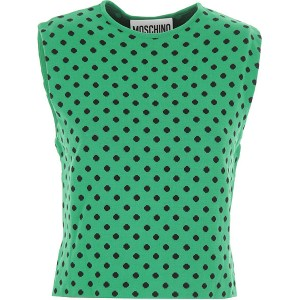 Moschino Women Tops Green•Other colors: Black The Most Popular ILCQ170