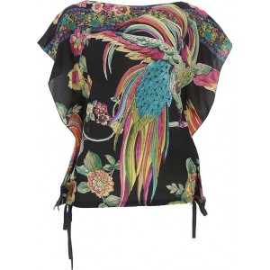 RED Valentino Women Tops Black•Other colors: Multicolor Best YLJZ331
