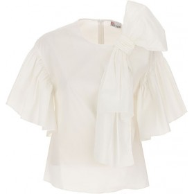 RED Valentino Women Tops White cool designs WHRM898