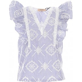 Twin Set by Simona Barbieri Women Tops White•Other colors: Blue At Target ICWS212