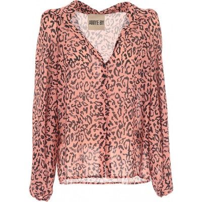 Aniye By Women Shirts Pink•Other colors:Black Plus Size New Arrival XBKI520