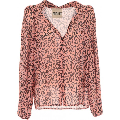 Aniye By Women Shirts Pink•Other colors: Black Plus Size New Arrival XBKI520