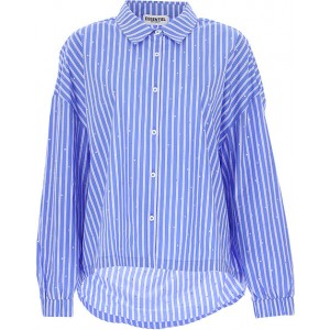 ESSENTIEL Antwerp Women Shirts Blue•Other colors: White Business Casual CBGH584