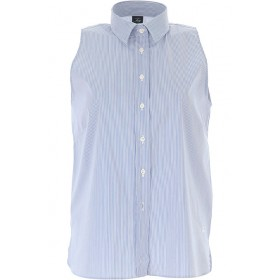 Fay Women Shirts White•Other colors: Blue evening Express LCXN434