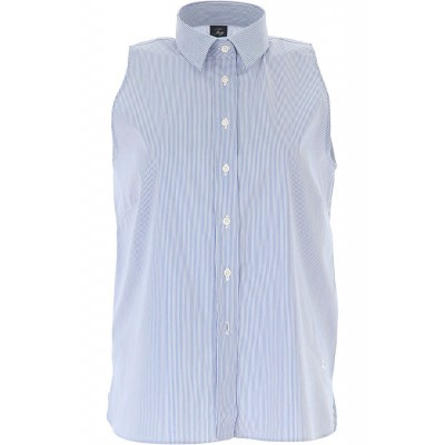 Fay Women Shirts White•Other colors:Blue evening Express LCXN434